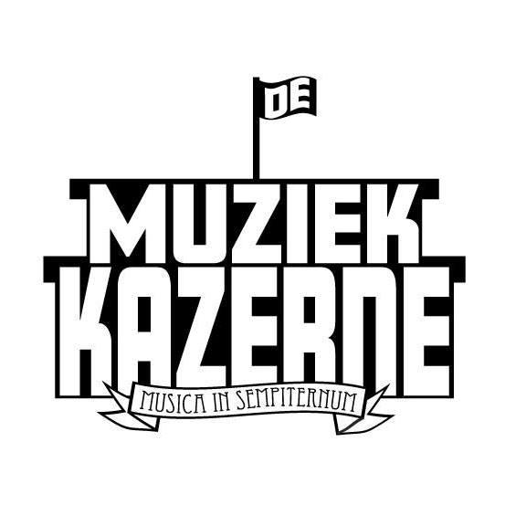 de muziek kazerne logo